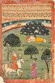 1733 CE Janamsakhi British Library MS Panj B 40, Guru Nanak hagiography 6, Bhai Sangu Mal.jpg