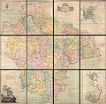 1765 Benjamin Donn Wall Map of Devonshire and Exeter, England - Geographicus - Devon-donn-1765.jpg