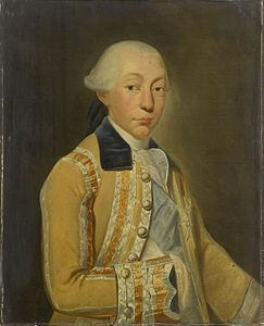 1774 portrait painting of Louis François Joseph de Bourbon, Prince of Conti by Auguste de Châtillon.jpg