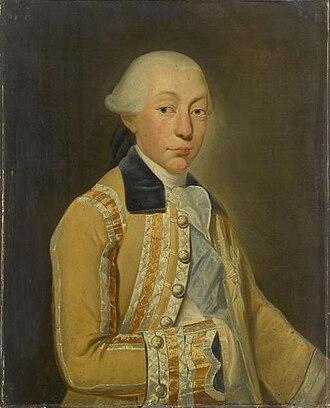 Louis François, Prince of Conti - Image: 1774 portrait painting of Louis François Joseph de Bourbon, Prince of Conti by Auguste de Châtillon