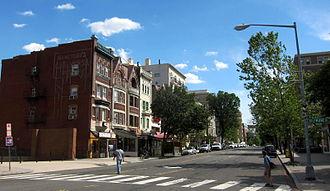 Columbia Road - Facing south on the 1800 block of Columbia Road in Adams Morgan