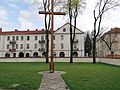 180415 - Basilica of the Annunciation in Pułtusk - courtyard - 02.jpg