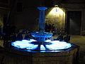 187 Llum BCN, instal·lació Sortint de la foscor, plaça de Sant Felip Neri.JPG