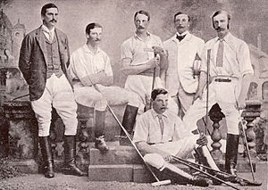 International Polo Cup - 1886 British team