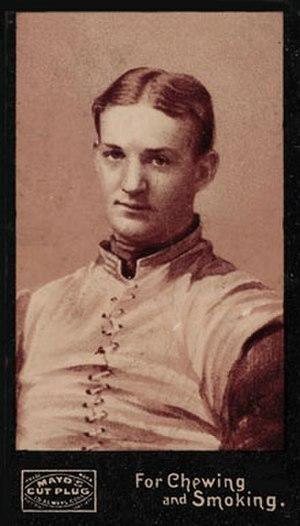 John Dunlop (American football) - Image: 1894 Mayo Cut Plug Football Anonymous John Dunlop