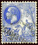 1913 2half Barbados Yv96 SG174.jpg