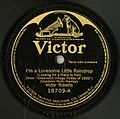 1920 record of I'm a Lonesome Little Raindrop.jpg