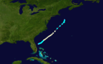 1922 Atlantic hurricane 3 track.png