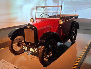 Austin 7 car model