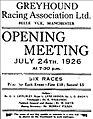 1926 Belle Vue Stadium newspaper advertisement.jpg