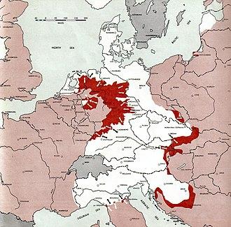 Syrmian Front - Image: 1945 04 15Ger WW2Battlefront Atlas