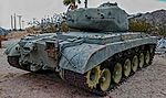 1945 M26 Pershing General Patton Museum, Chiriaco Summit, CA. (22360538951).jpg