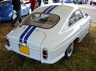 DB HBR 5 - Rear view of 1959 HBR 5, showing the Peugeot 403 taillights