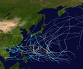 1968 Pacific typhoon season summary map.png