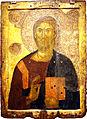 1991 - Byzantine Museum, Athens - Christ Pantokrator -14th century - Photo by Giovanni Dall'Orto, Nov 12 2009.jpg