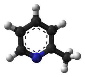 2-Methylpyridine - Image: 2 methylpyridine 3D balls
