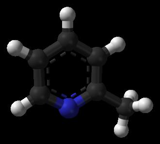 2-Methylpyridine - Image: 2 methylpyridine 3D balls