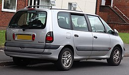 2002 Renault Espace Expression DCi 2.2 Rear.jpg