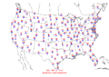 2005-09-21 Max-min Temperature Map NOAA.png