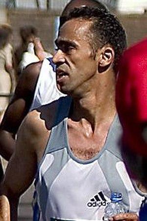 Jaouad Gharib - Image: 2005 London Marathon Gharib