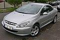 2005 Peugeot 307 (T5 MY03) CC Sport convertible (2015-11-11) 01.jpg