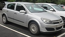 Vauxhall motors wikivisually the astra mark v in production from 2004 to 2009 fandeluxe Image collections