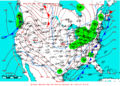 2007-01-16 Surface Weather Map NOAA.png