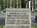 2007-06-14 Tablica upamiętniająca Marcina Kasprzaka w Warszawie.jpg