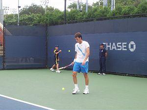 Sam Warburg - Sam Warburg at the 2007 US Open
