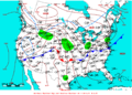 2009-04-29 Surface Weather Map NOAA.png