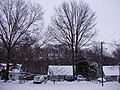 2009-12-20 08 00 00 A house along Terrace Boulevard after the North American blizzard of 2009 in Ewing Township, Mercer County, New Jersey.jpg