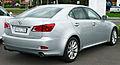 2009 Lexus IS 250 (GSE20R) Prestige sedan (2011-04-22).jpg