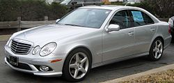 2009 Mercedes-Benz E350 (US, W211)