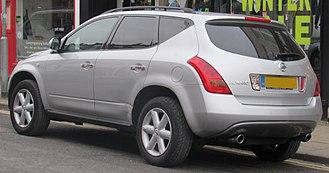 Nissan Murano - Nissan Murano 3.5 (UK)