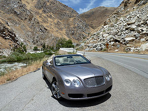 Bentley Continental GT - Bentley Continental GTC