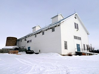 National Register of Historic Places listings in Fillmore County, Minnesota - Image: 2011 0116 Allis Barn