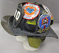 2011-191-2 Helmet, Fireman, Fire Department New York, Side.jpg
