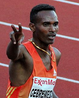 Dejen Gebremeskel Ethiopian long-distance runner