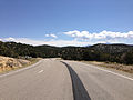 2014-08-09 11 20 37 View east on U.S. Routes 6 and 50 and south on U.S. Route 93 about 60.8 miles east of the Nye County line in White Pine County, Nevada.JPG