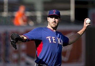 Aaron Poreda - Poreda with the Texas Rangers
