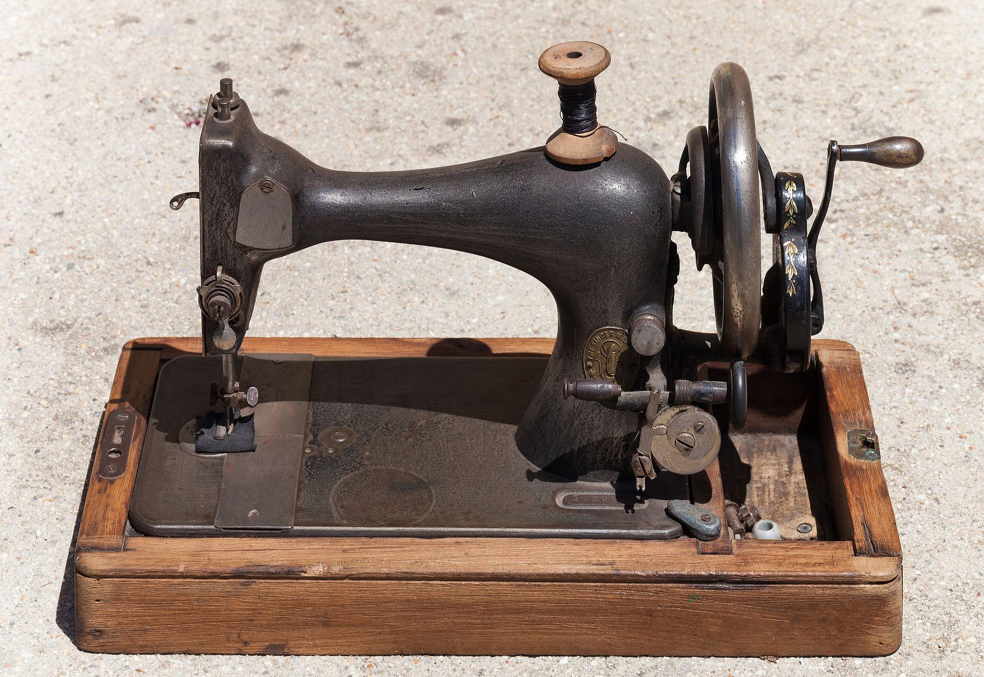 Máquina de coser Singer - Wikipedia, la enciclopedia libre
