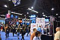 2015 NAMM Show - Clavia DMI Nord booth, and signs of Novation, Reloop, Studiologic, Kurzweil.jpg