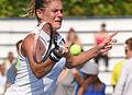 2015 US Open Tennis - Qualies - Misa Eguchi (JPN) def. Julie Coin (FRA) (20330844293).jpg