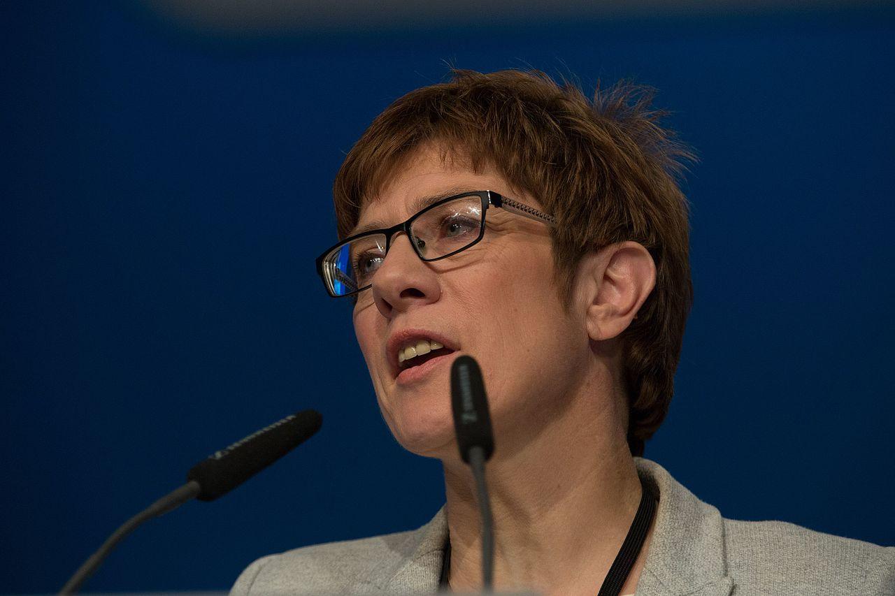 2016-12-06 Annegret Kramp-Karrenbauer CDU Parteitag by Olaf Kosinsky-1.jpg