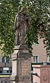 2016 Figura św. Jana Nepomucena w Nowej Rudzie (ul. Cmentarna) 5.jpg