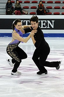 Are ice dancers white and davis dating sim