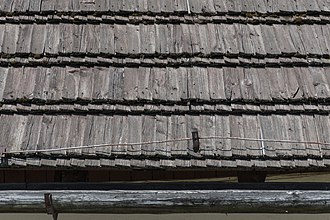 Wood shingle - Wooden shakes in Poland