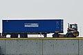2016 in Zeebrugge terminal tractor with semi-trailer.jpg