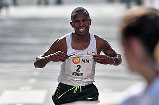 Laban Korir Kenyan long-distance runner