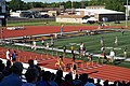 2017 Lone Star Conference Outdoor Track and Field Championships 28 (women's 100m hurdles finals).jpg